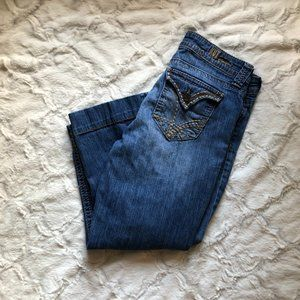 Kut From the Kloth Cropped Capri Jeans Size 10